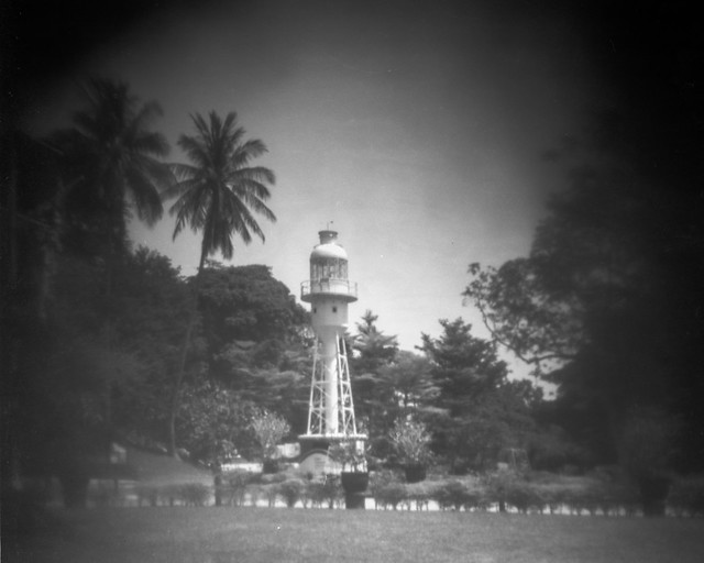 Pinhole at Fort Canning Park