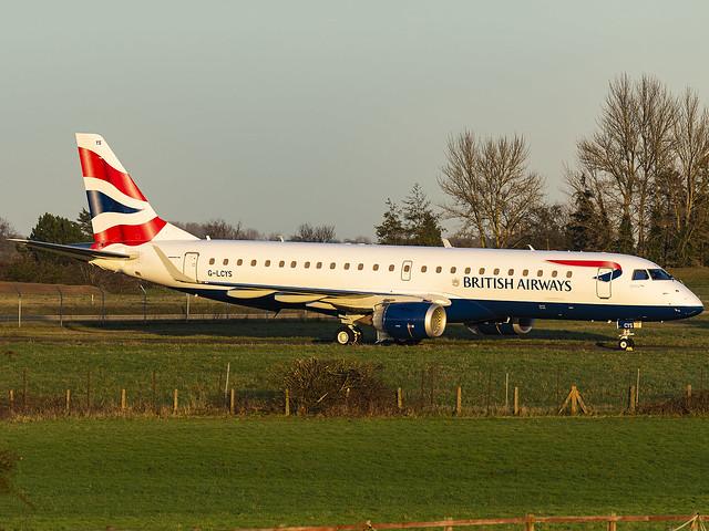 BA CityFlyer   Embraer ERJ-190SR   G-LCYS