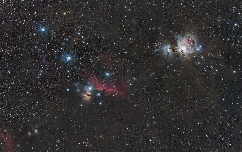 Az M78, IC 434 és M42 - Nagy Berta László - VCSE