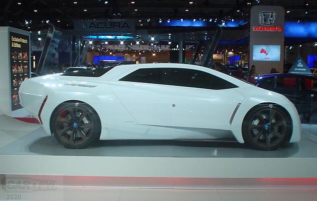 Honda FC Sport Concept at 2009 CIAS