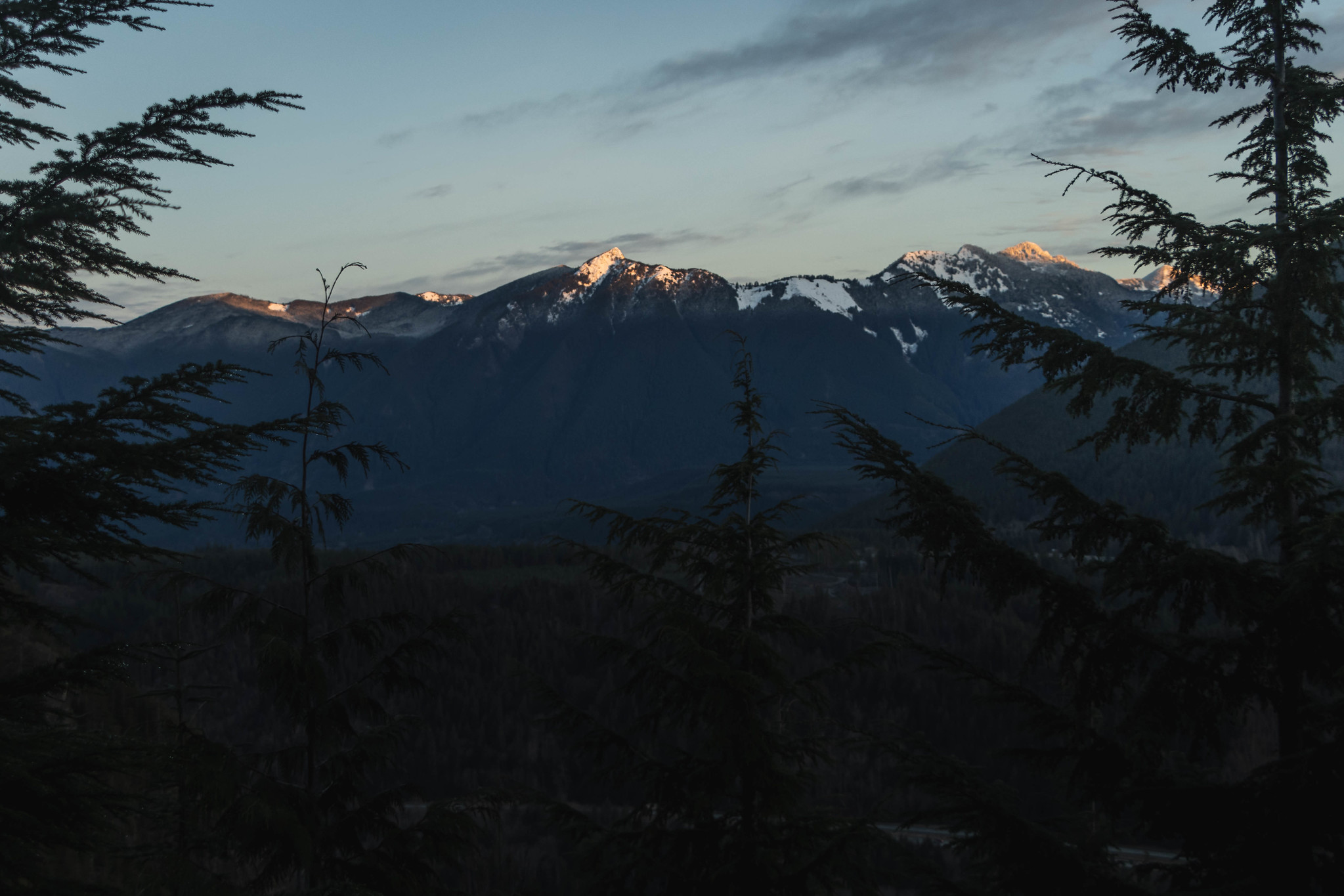 First light on Teneriffe