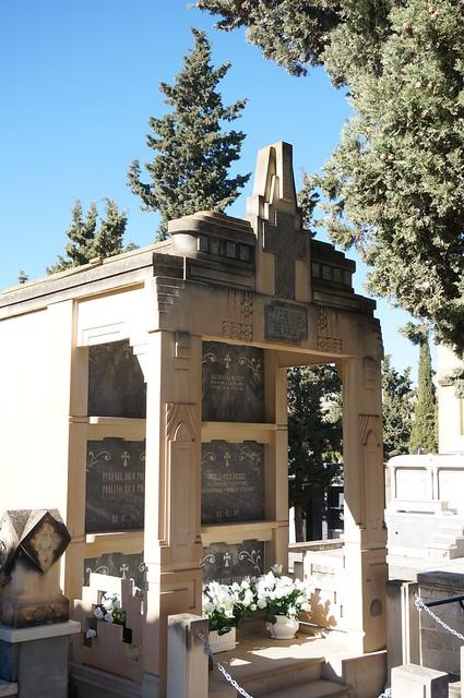 Cementerio Santa Bárbara de Elda (Alicante)