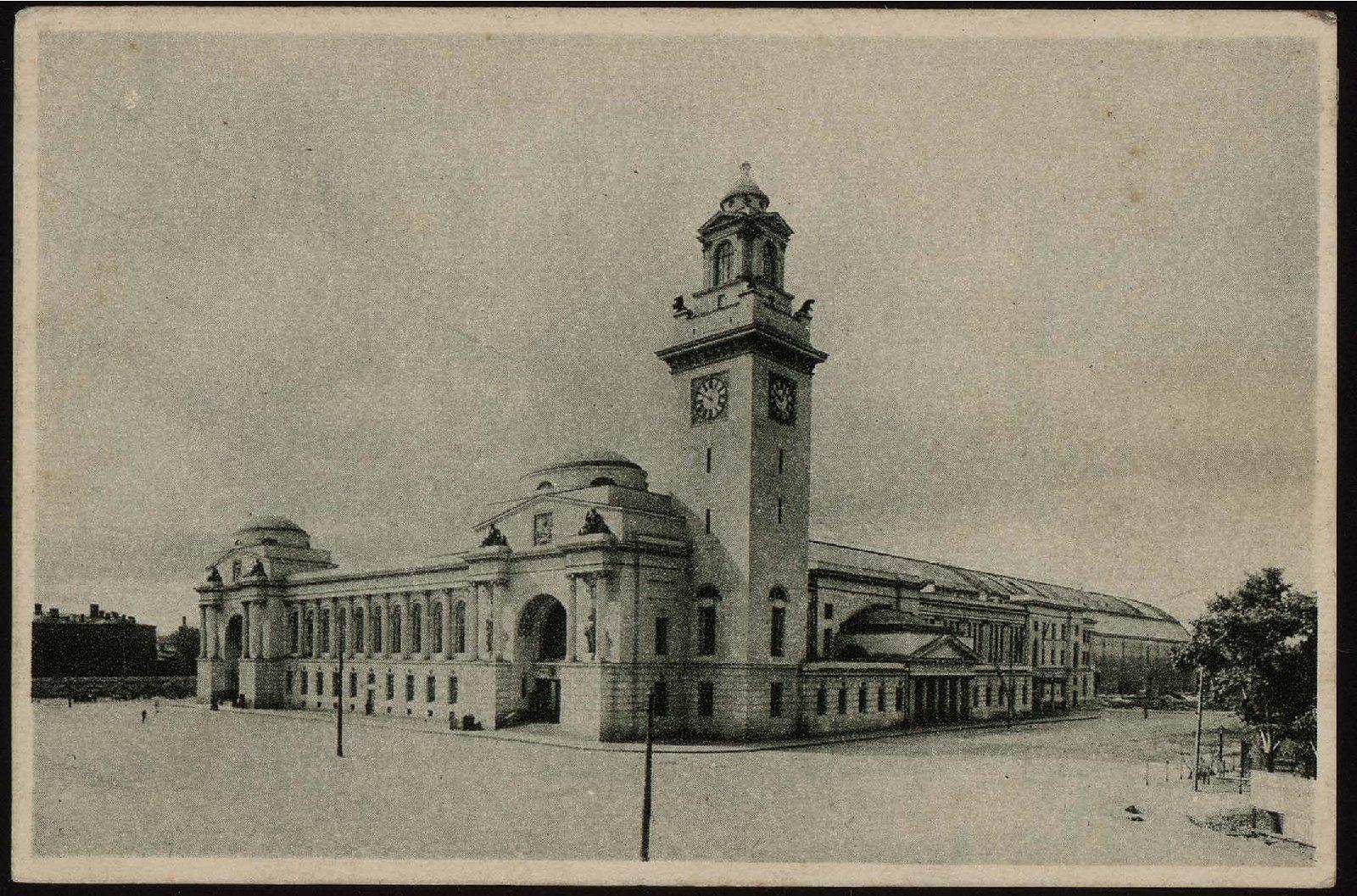 Брянский вокзал. (Б. Дорогомиловская)