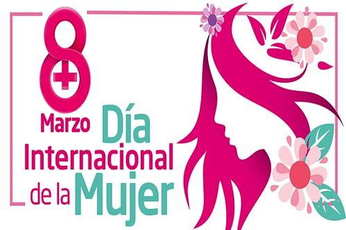 Logo del 8 de Marzo, Día Internacional de la Mujer