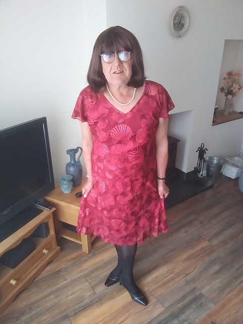 Autonomy Red Dress