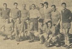 Temporada 1960/61: formación del Gimnástico Alcázar, de Alcázar de San Juan (Ciudad Real)