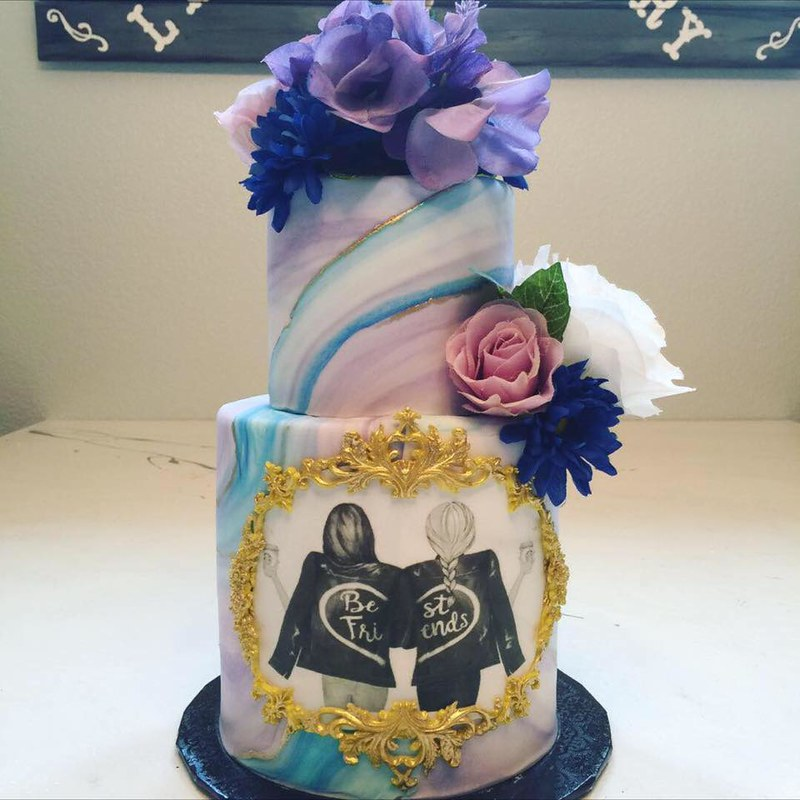 Cake by Lala's Cakes