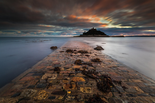 St Michael's Mount Sunset - Cornwall