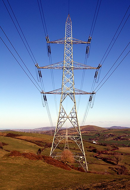 This week firstly it's a 'Pylon within a Pylon' above Betws yn Rhos, Conwy, North Wales - Happy Telegraph Tuesday (1 of 2) [HTT] Everyone!