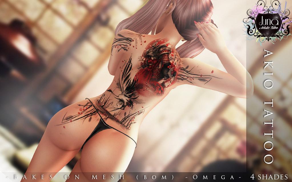 Akio tattoo