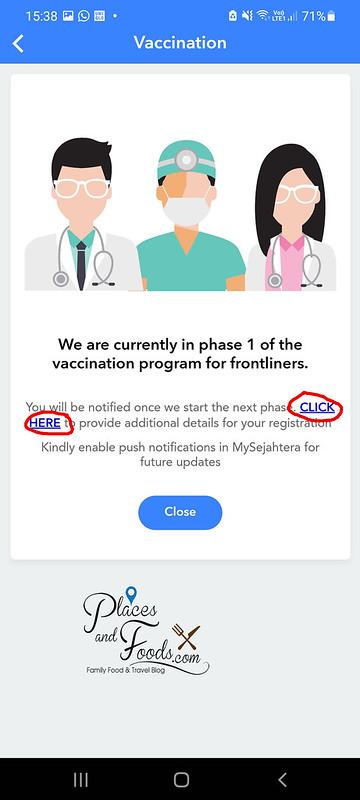 mysejahtera covid registration click