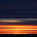 19. Jaanuar 2021 - 9:35 - Brilliant layered sunrise - Edmonton, Alberta
