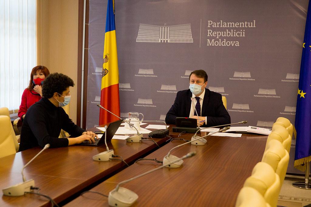 23.02.2021 Ședința Comisiei de control al finanțelor publice