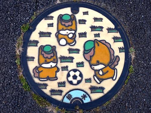 Gunma prefecture, manhole cover (群馬県のマンホール)
