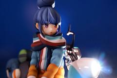 志摩リン with スクーター