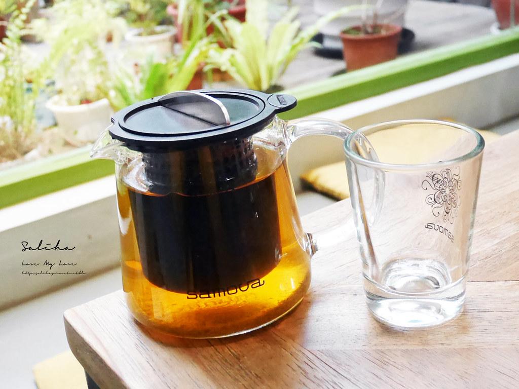 台北好喝茶館城市草倉茶公館台大附近不限時可久坐咖啡廳有蛋糕 (1)