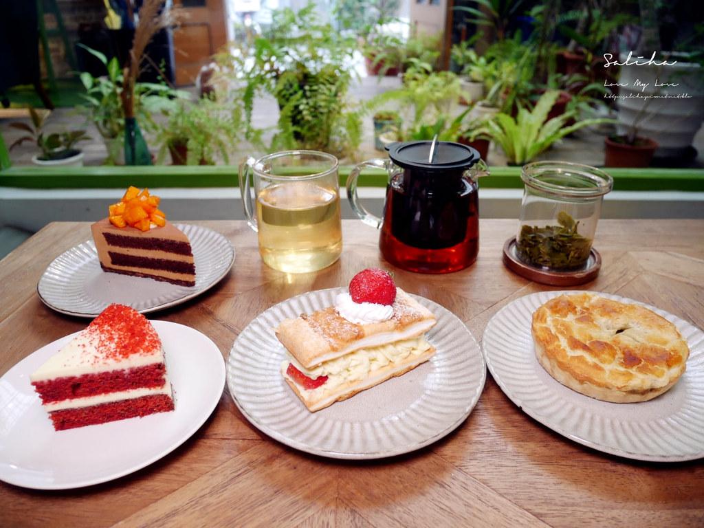 台北公館好吃蛋糕甜點城市草倉中正區台大附近不限時咖啡廳有貓咪 (1)