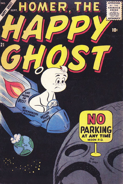 Homer, the Happy Ghost #21