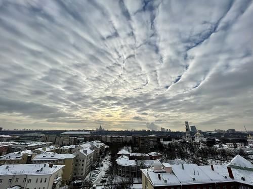 Морозное небо