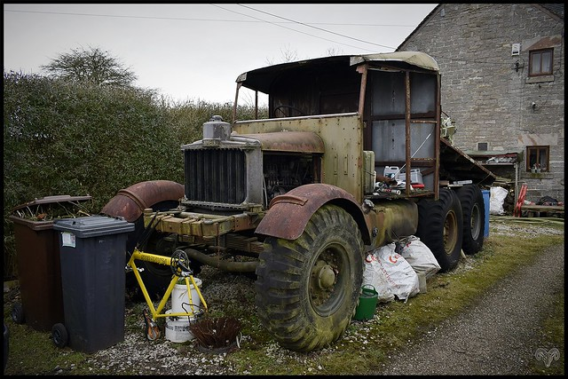 1939 Scammell Pioneer SV2S,Staffordshire Moorlands.