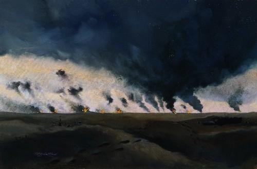 Bombing of Al Wafra Sgt Charles G. Grow, USMC