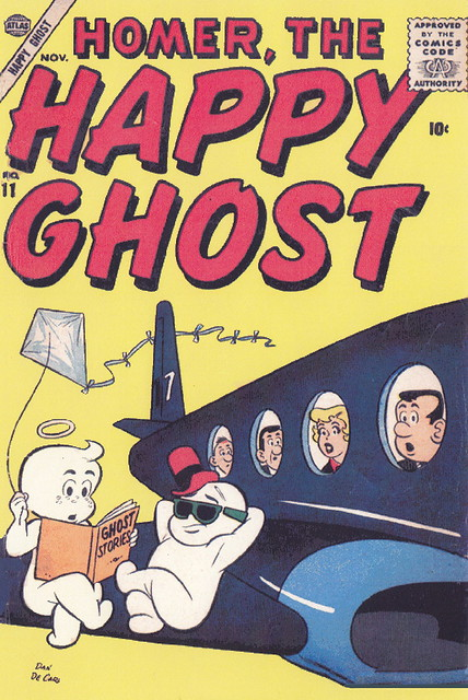 Homer, the Happy Ghost #11