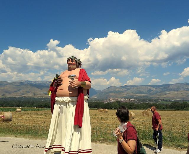 Trobada de Gigantes y Cabezudos- Vilallovent. Pirineos Catalanes.