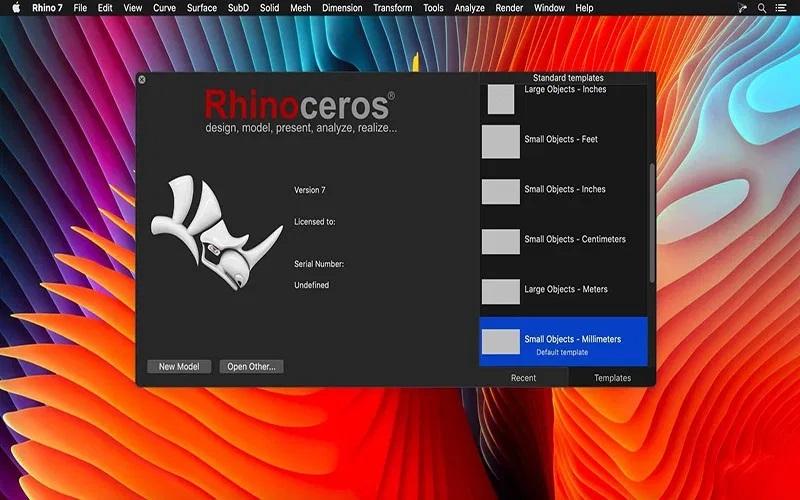 Working with Rhinoceros 7.4 macOS full