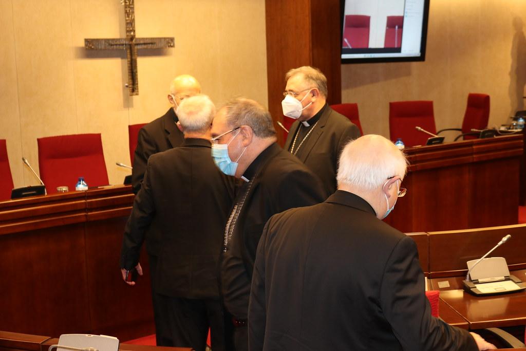 Obispos en la Plenaria