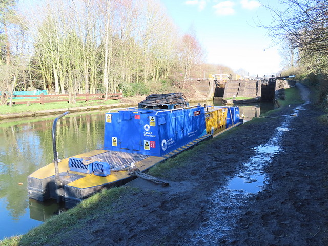 CRT Gowy at Lock 65