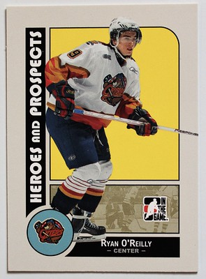 Ryan Prospects Card Erie Otters front
