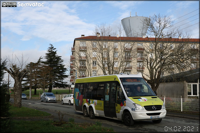 Mercedes-Benz Sprinter City 77 – Sovetours (Groupe Fast, Financière Atlantique de Services et de Transports) / Fontélys