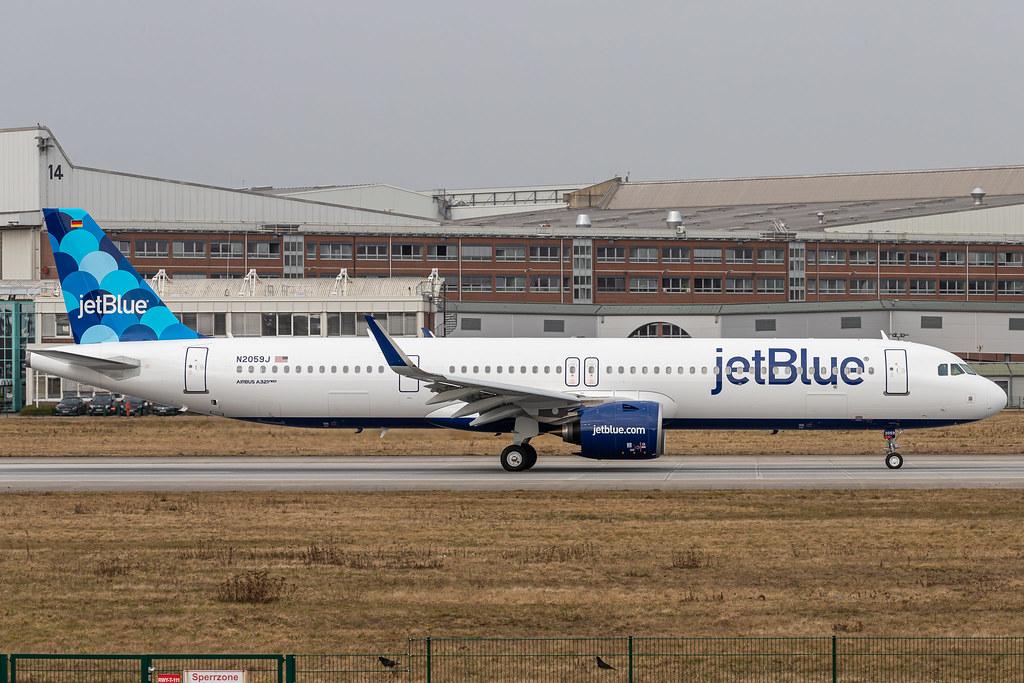 A321-271NX JetBlue D-AVXT - N2059J MSN9245