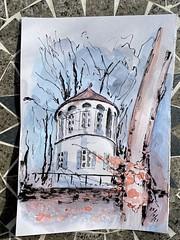 'Römerturm' in Göggingen -  22/2/21