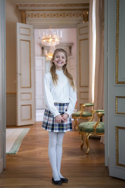 9e verjaardag Prinses Estelle van Zweden