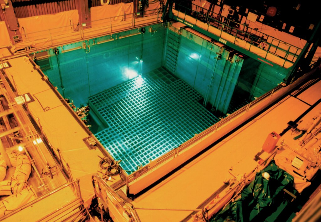 核電廠用過燃料貯存池。照片來源:Nuclear Regulatory Commission