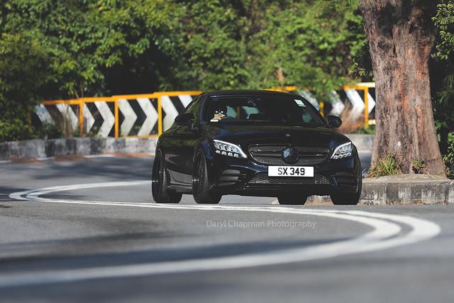 Mercedes-Benz, C43 AMG, Shek O, Hong Kong