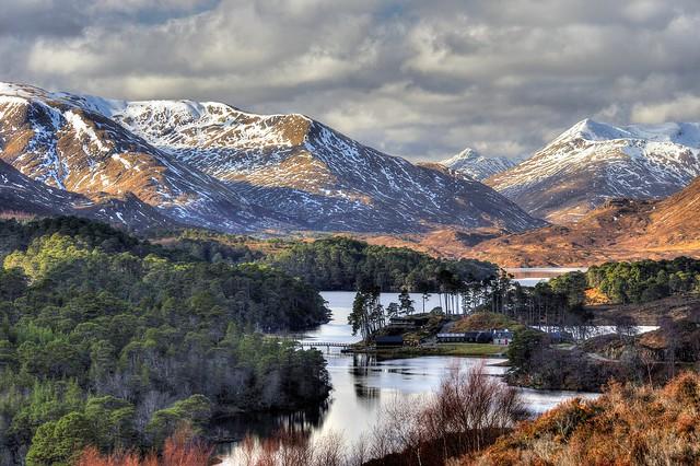Glen Affric, Highland, Scotland, UK