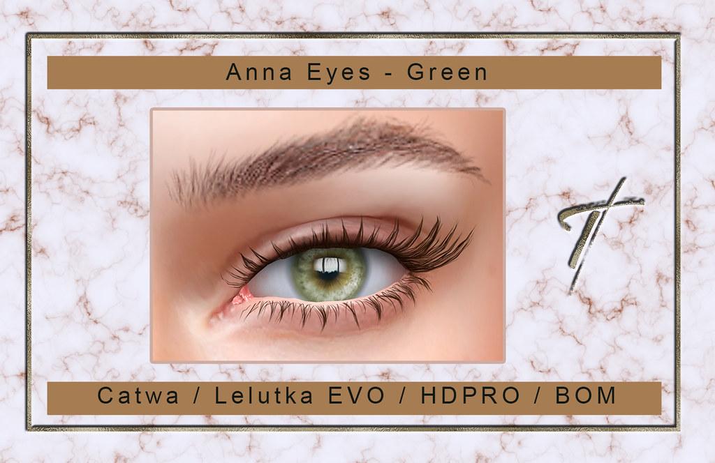 Anna Eyes - Green