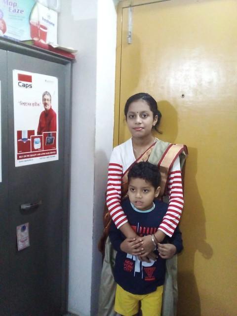 Son & Daughter of Prasantt Ghosh