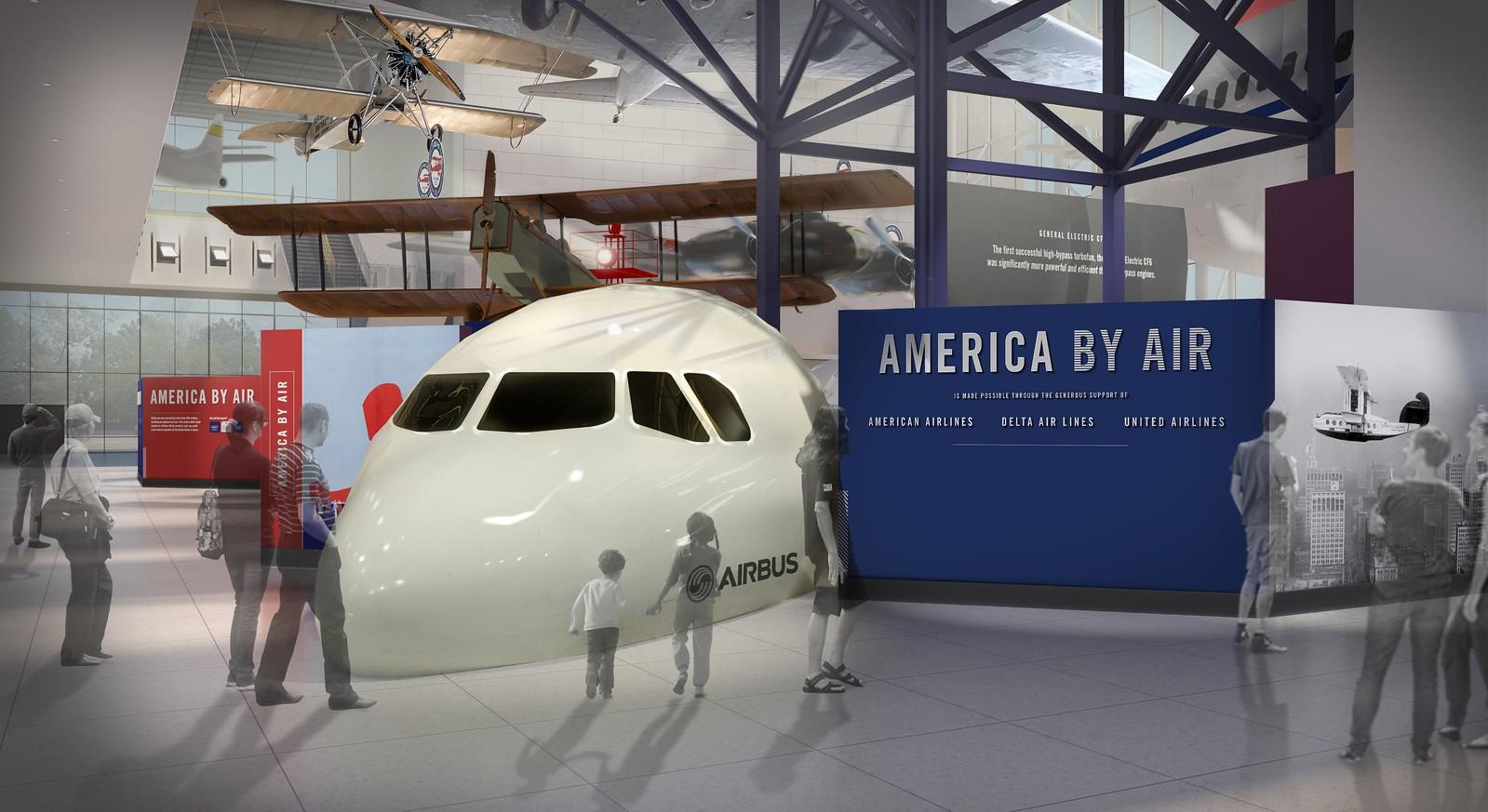 """America by Air"" Gallery"