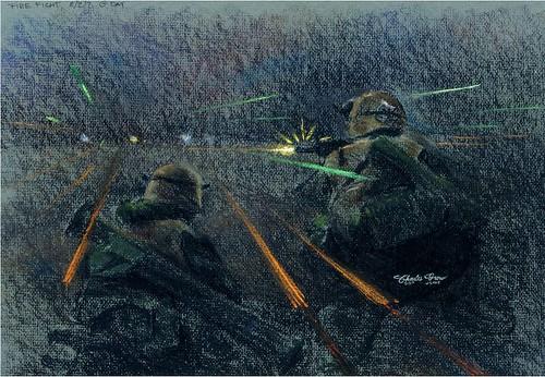 Firefight by Sgt Charles G. Grow, USMC