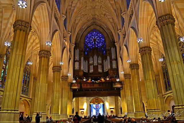 Stunning St. Patrick's Cathedral Midtown Manhattan New York City NY P00812 DSC_1138