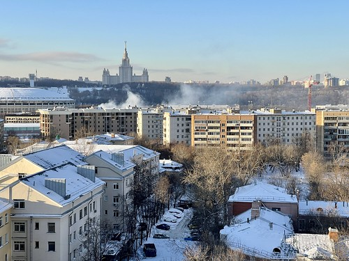 - 25 С in Moscow
