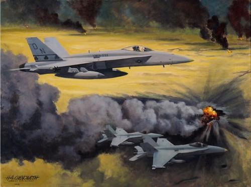 Over the Oil Fields, by Col H. Avery Chenoweth, USMCR