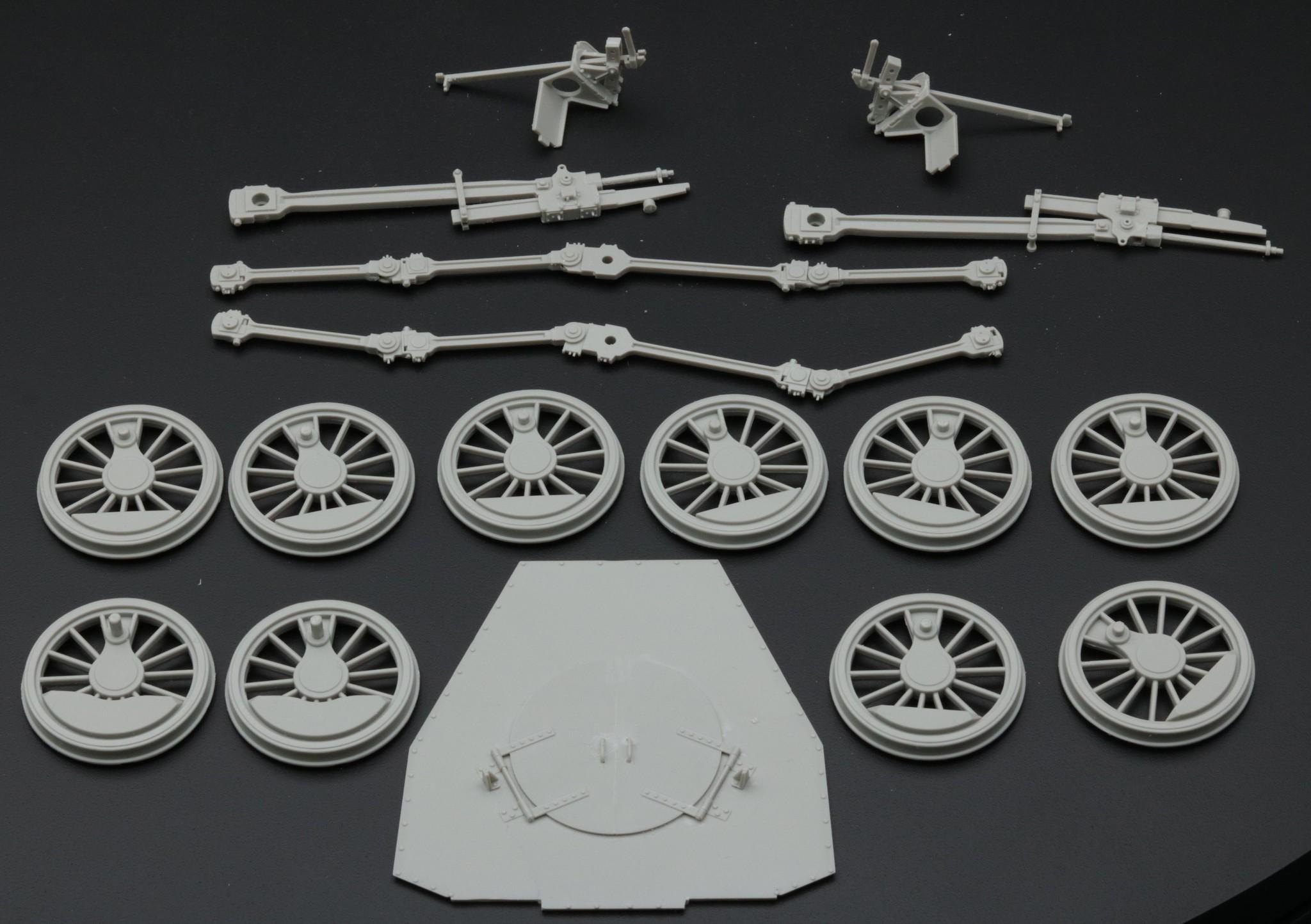 BR57 : bielles, roues ...