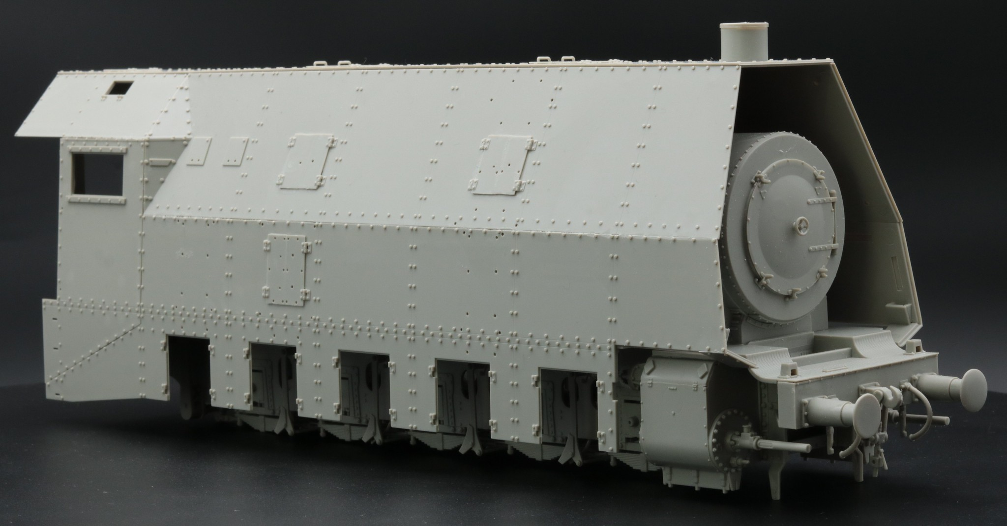 BR57 montage à blanc