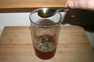 05 - Add olive oil / Olivenöl hinzufügen