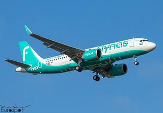 F-WWBQ / HZ-NS35 Airbus A320-251N Fly Nas s/n 10431 * Toulouse Blagnac 2021 *