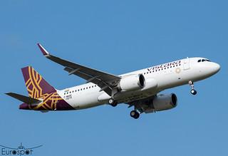F-WWBE / VT-TQC Airbus A320-251N Vistara s/n 10274 * Toulouse Blagnac 2021 *
